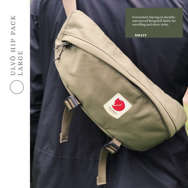 412976587fa8 Fjallraven Ulvo Hip Pack Large