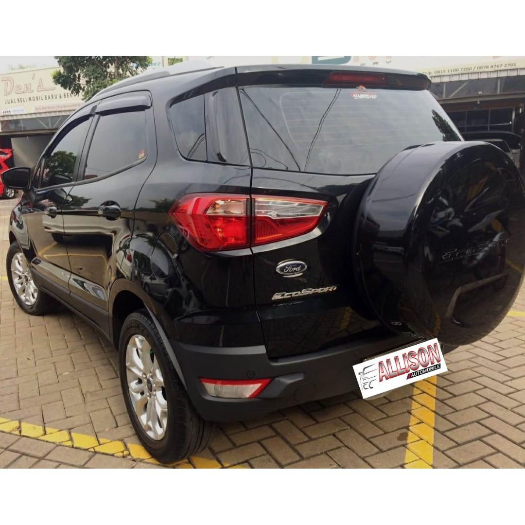 Ford Ecosport Titanium AT Hitam 2015 Dp 43,9 Jt No Pol Ganjil