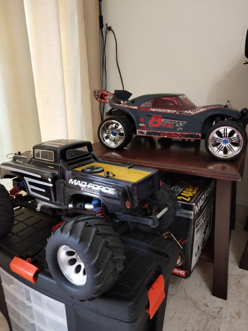 Forsale Kyosho bxxl and madforce kruise 2.0
