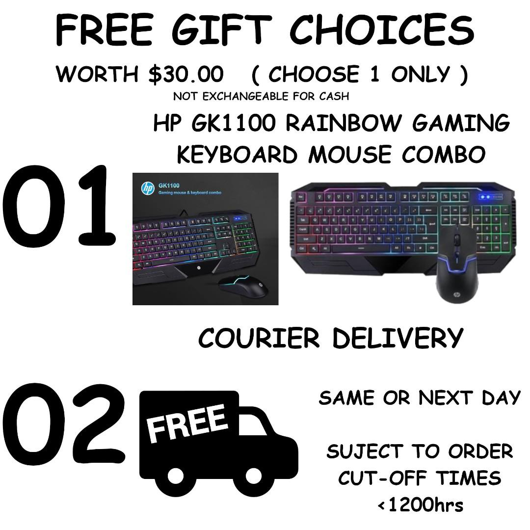 FREE DELIVERY BUDGET GAMING PC GAMEMAX G503X INTEL I5-9400F