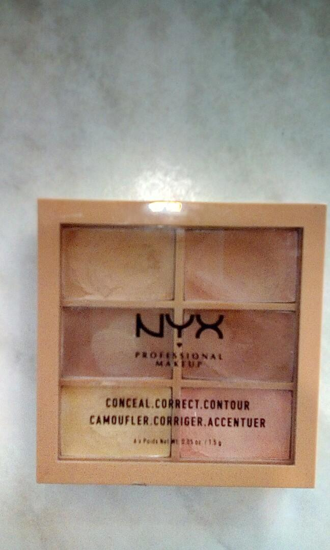 FREE UNTRACKED POSTAGE Nyx Conceal Correct Contour