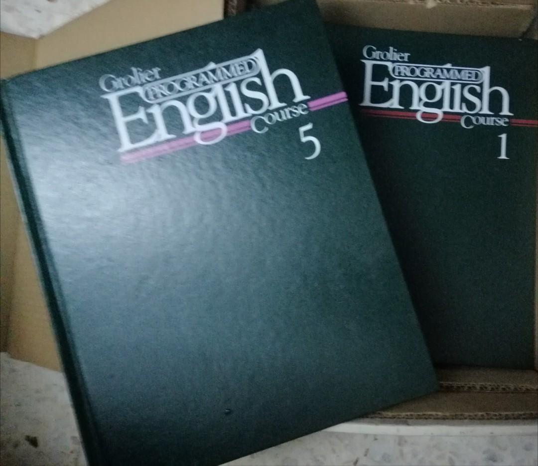 GROLIER PROGRAMME ENGLISH COURSE