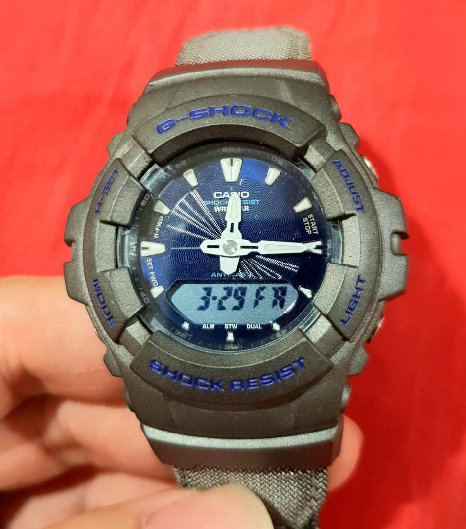 G-Shock G-100 original, rare limited, analog digital