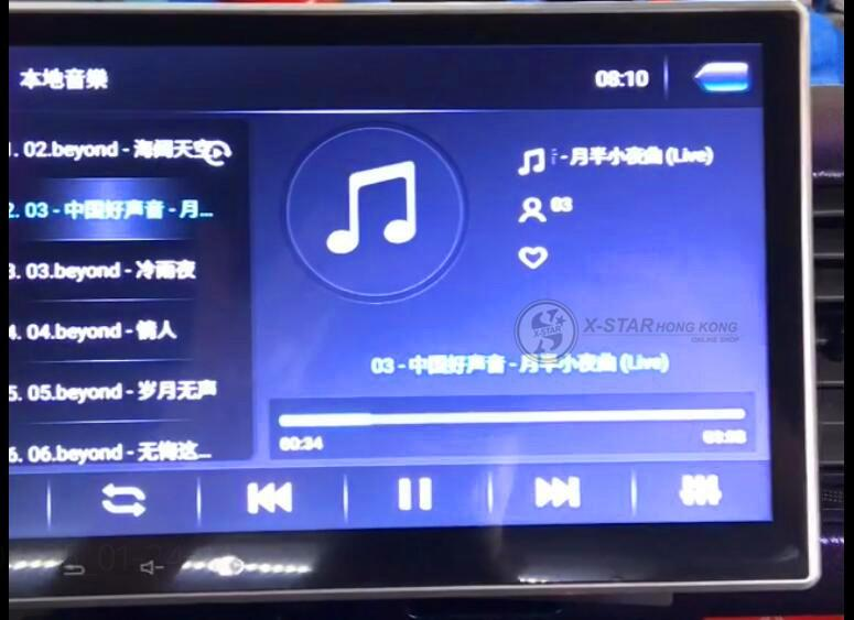 hiace 10吋 android 導航車機