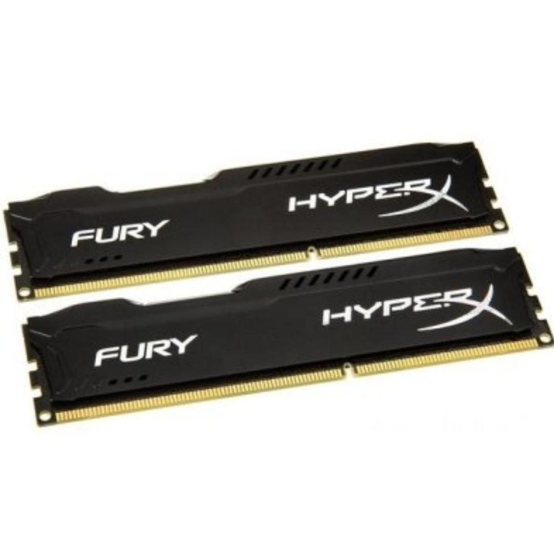 HyperX Fury 16GB Kit (2x8GB)