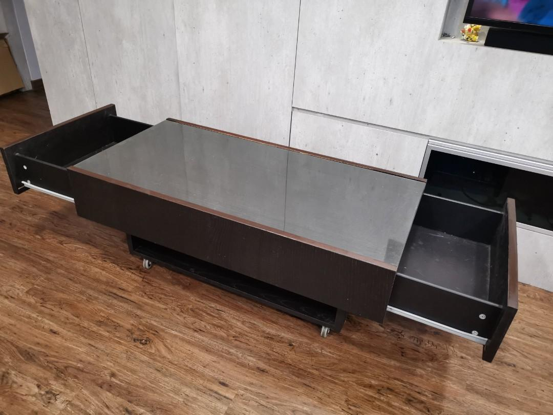 Picture of: Coffee Table With Storage Ikea
