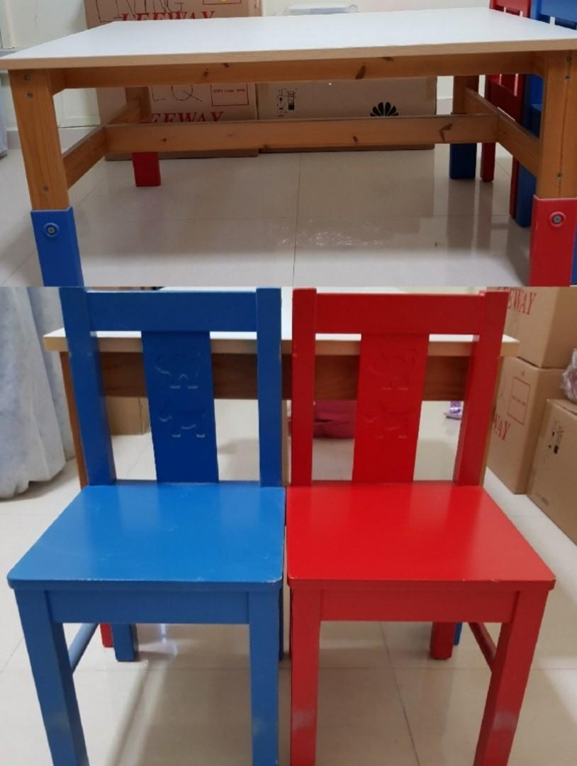 Ikea Kids Table Furniture Tables Chairs On Carousell
