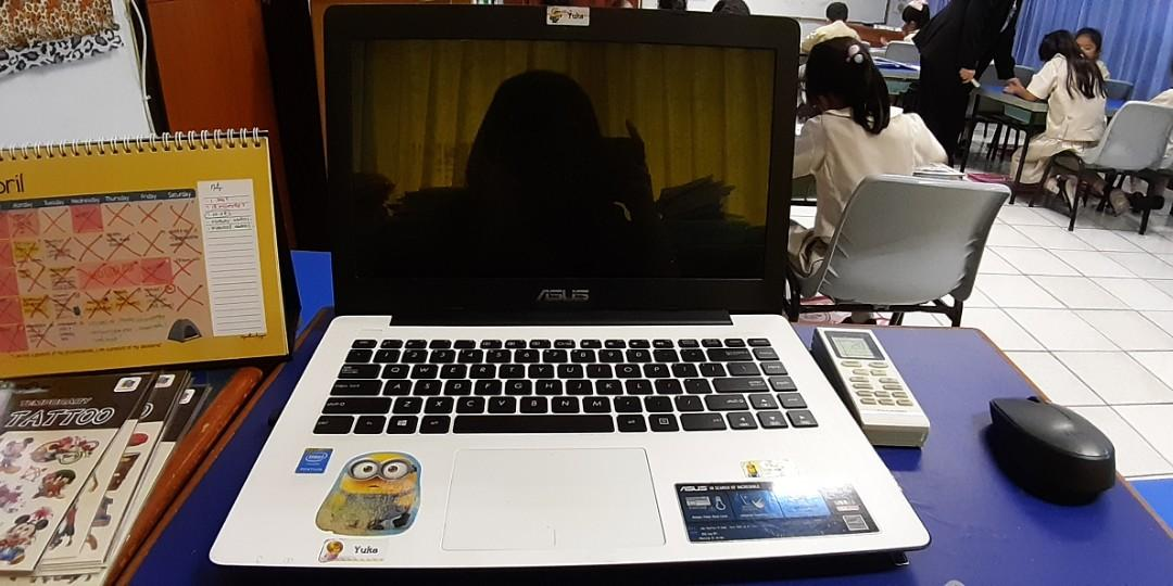 LAPTOP ASUS X453M WHITE (USED)