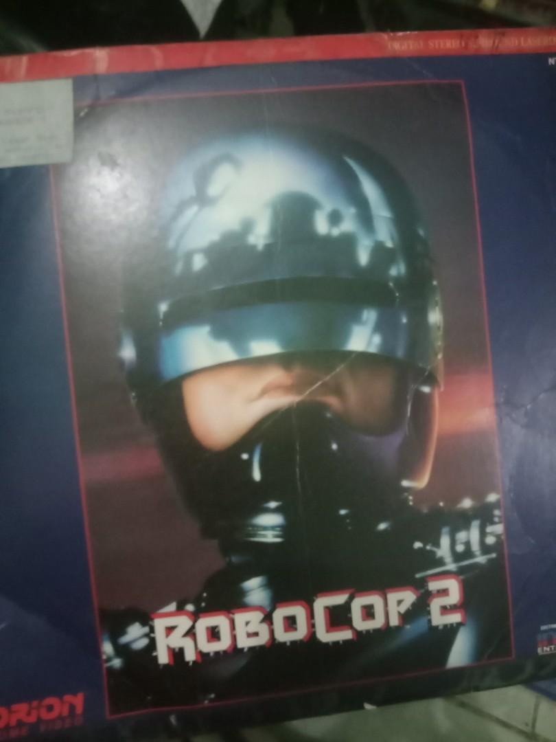 laser disc movie Robocop 1&2