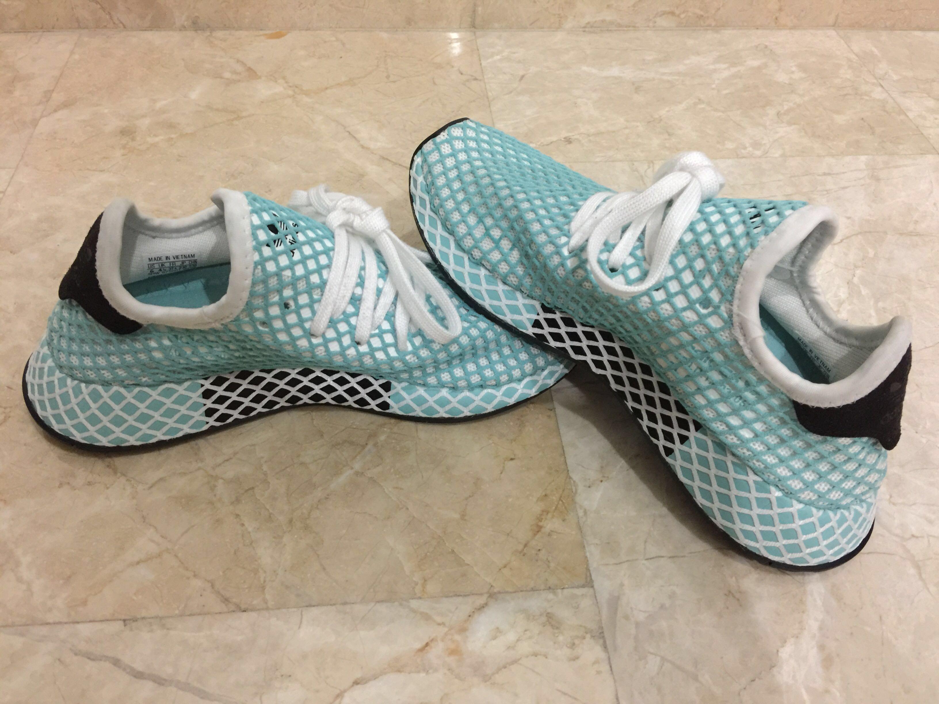 80100dddf LAST DEAL !! Adidas Deerupt Runner Parley For Ocean White CQ2908 ...