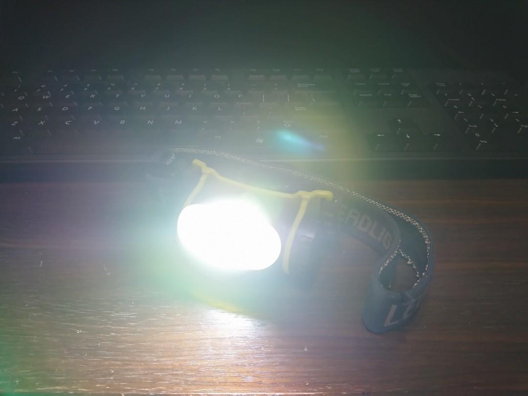 LED Headlight LED頭燈 使用18650 Li-ion 鋰電池 (USB插直接叉電) 本貨品不包電池