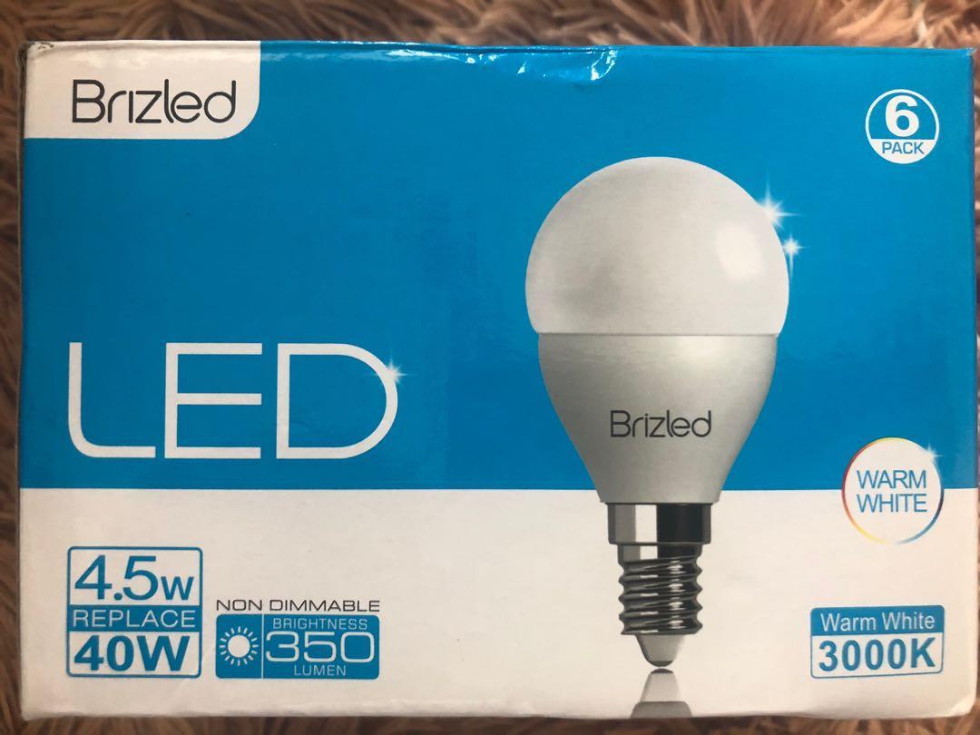 LED LightBulb E14 x 6pcs