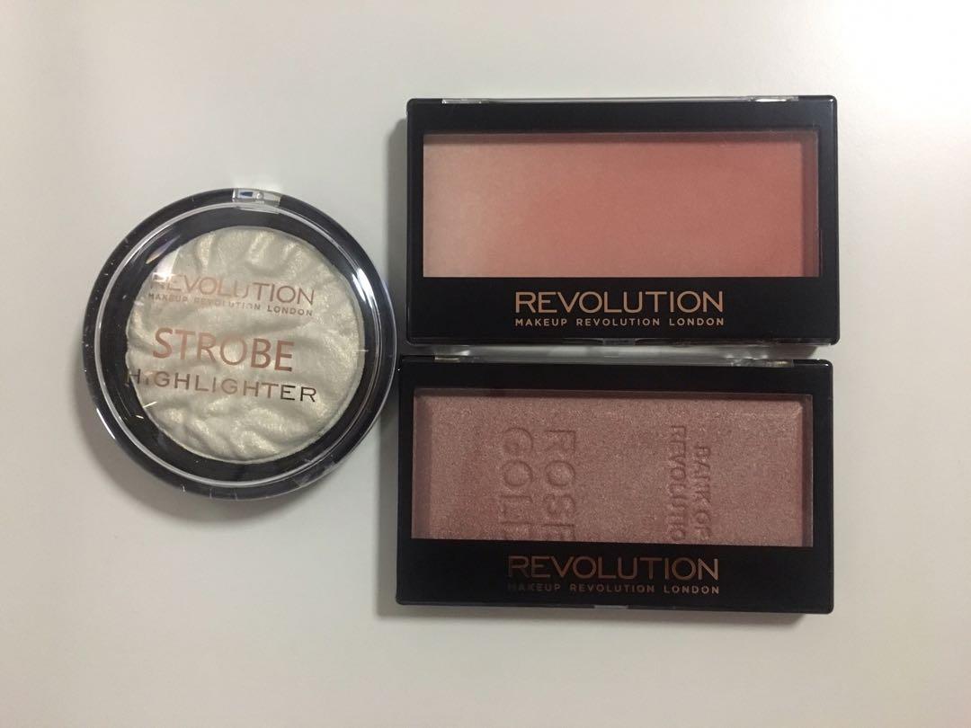 Makeup Revolution Highlighters