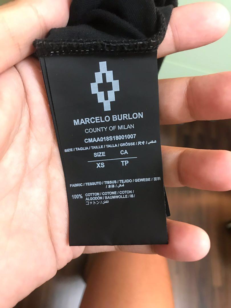 Marcelo Burlon彩羽 MB保證正品