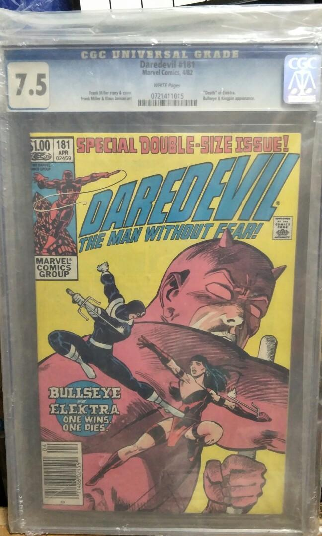 Marvel Comics vintage collectibles classics rare Key issue Hard to find comics graded Cgc 7.5