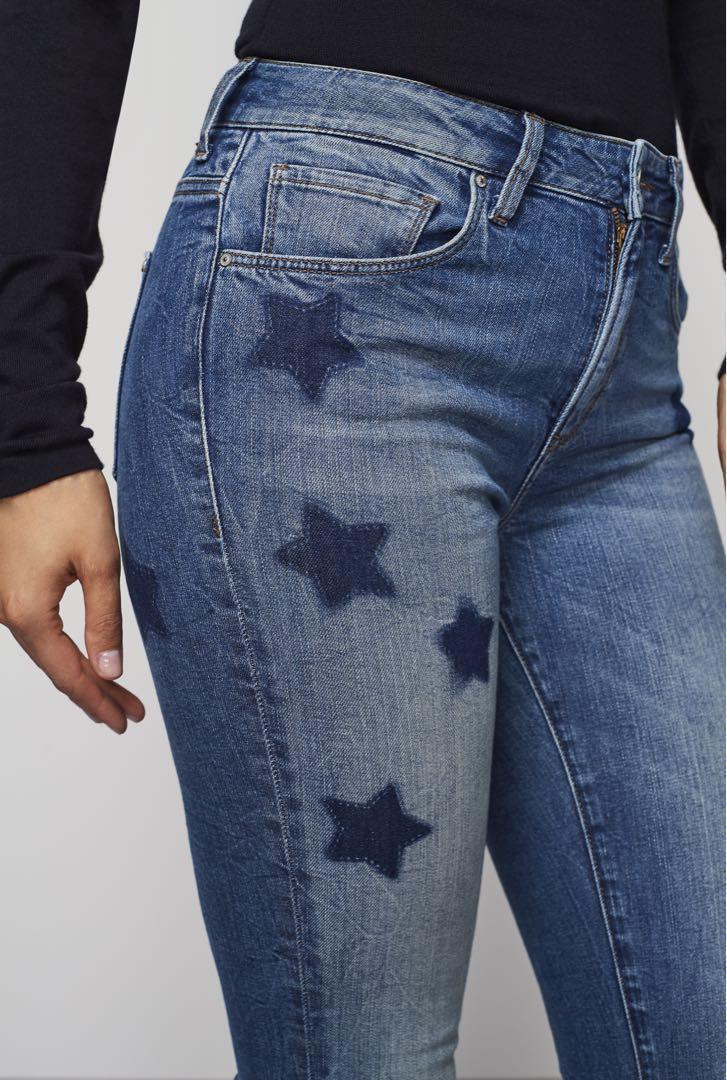 Mavi Tess Star Skinny Jeans Size 24 (Pick Up Only)