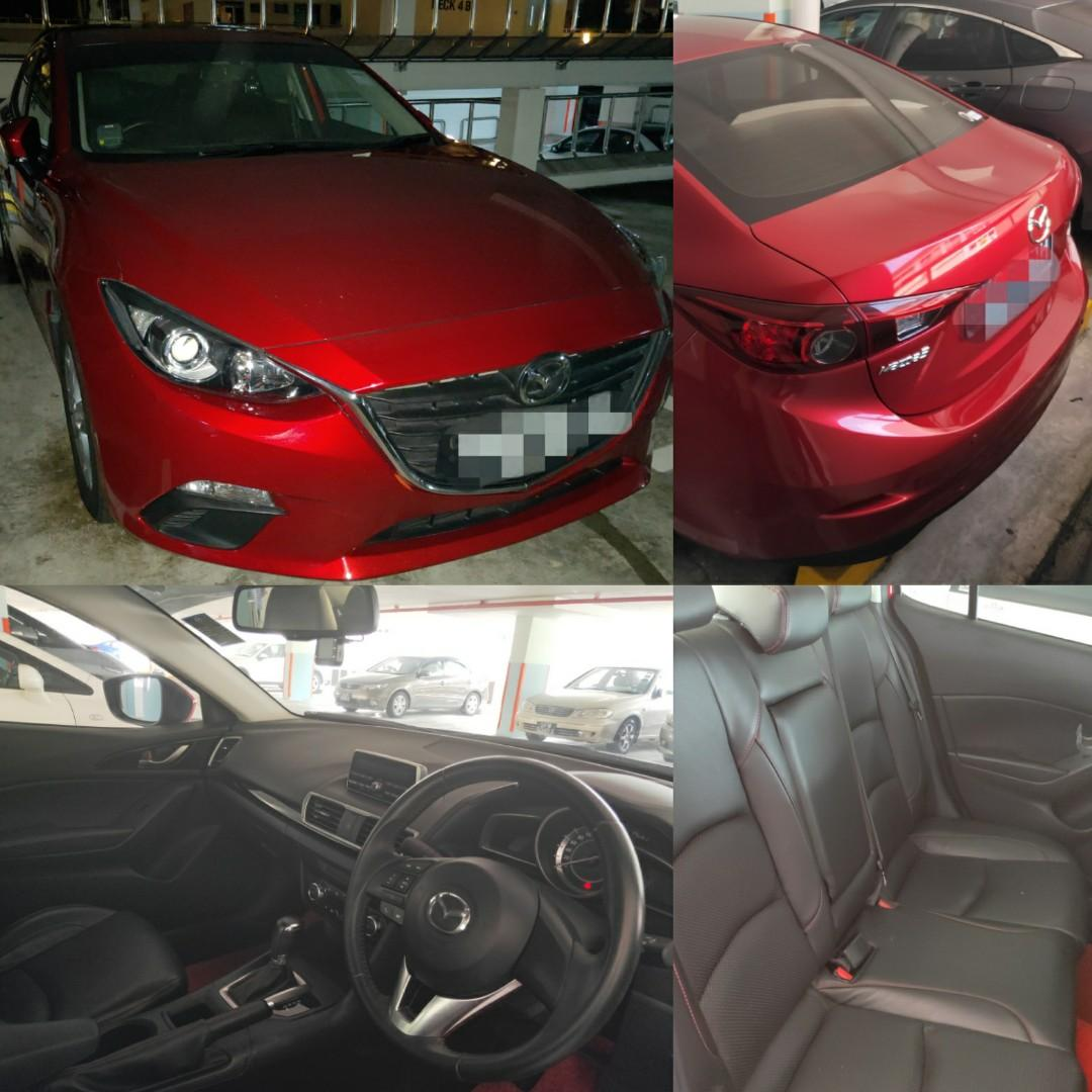 Mazda Skyactive for rent/LTO