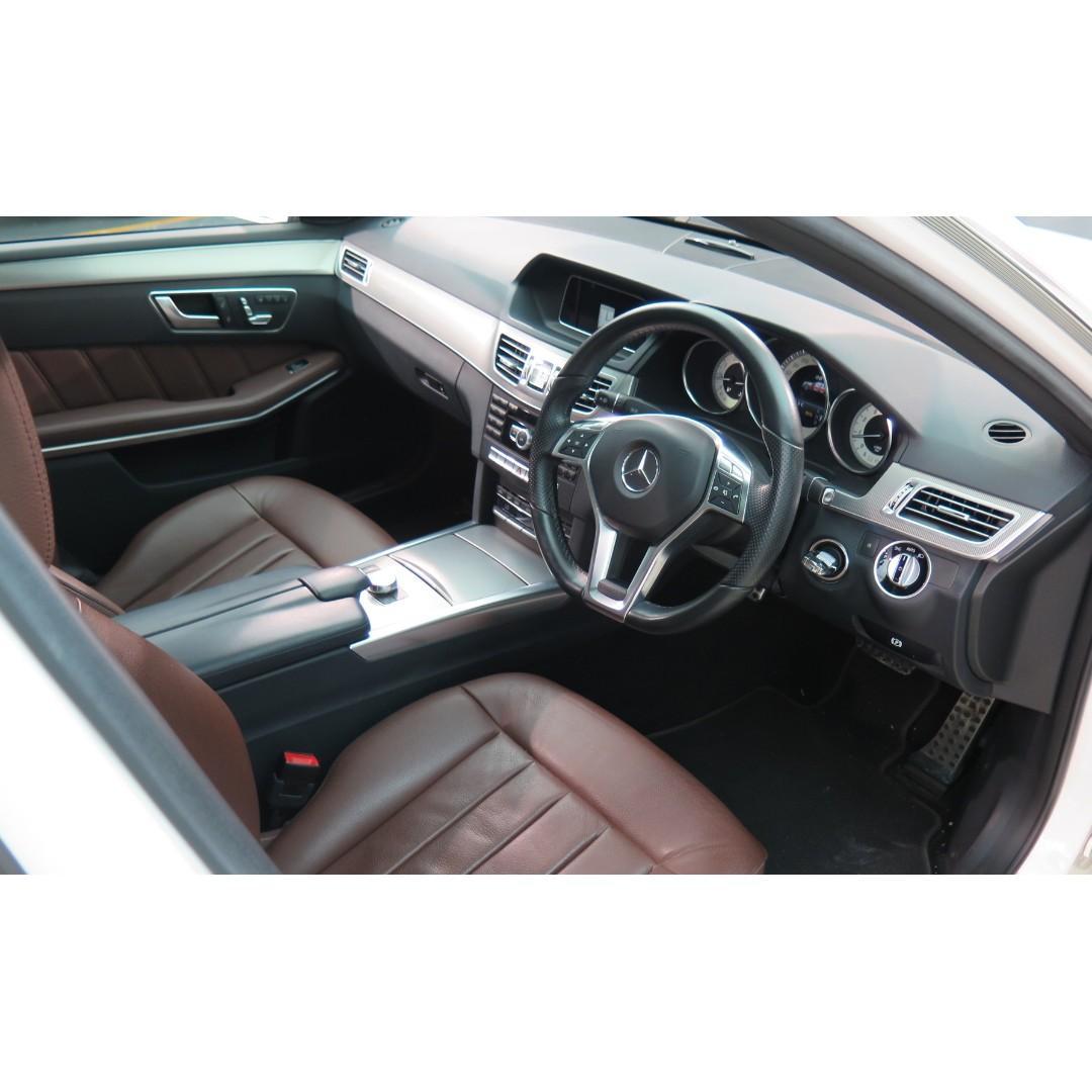 MERCEDES-BENZ E250 Sport Facelift 2014'