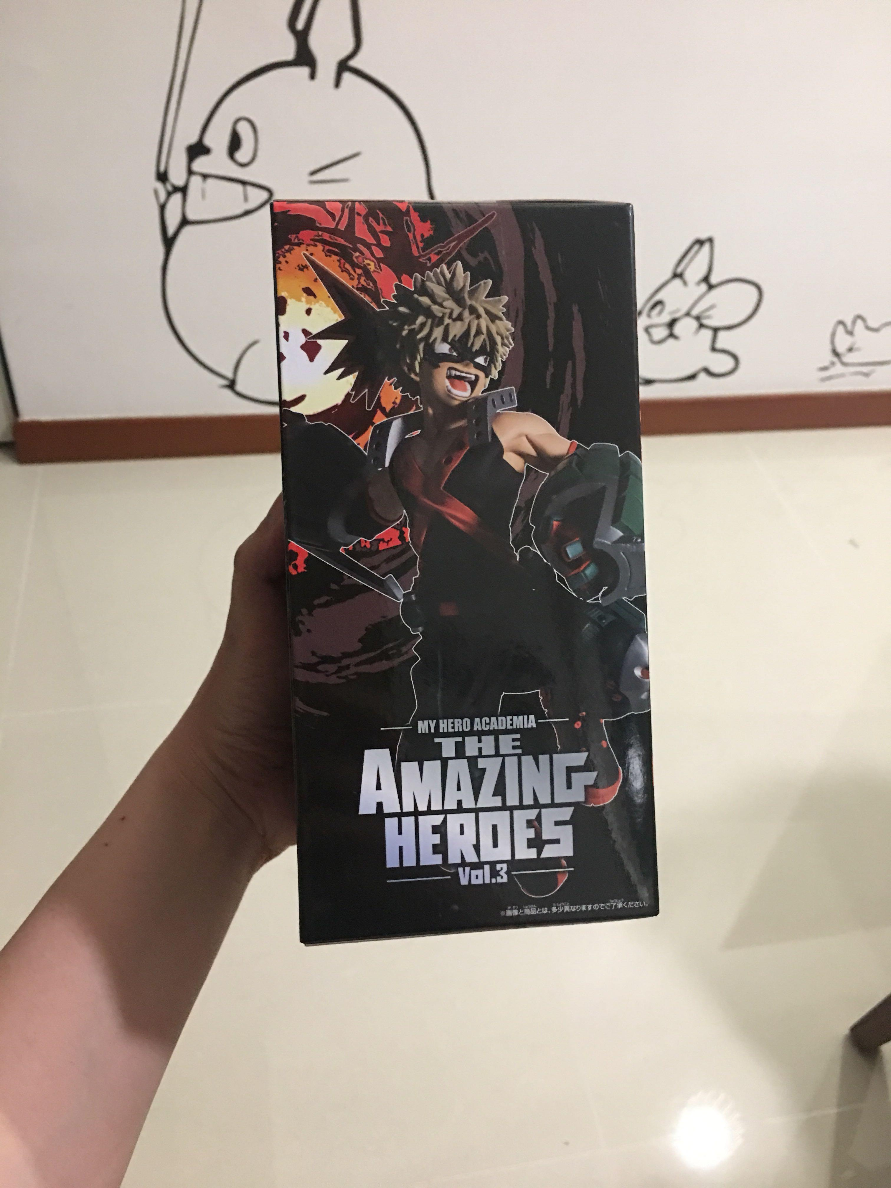 My Hero Academia The Amazing Heroes Figure - Bakugo