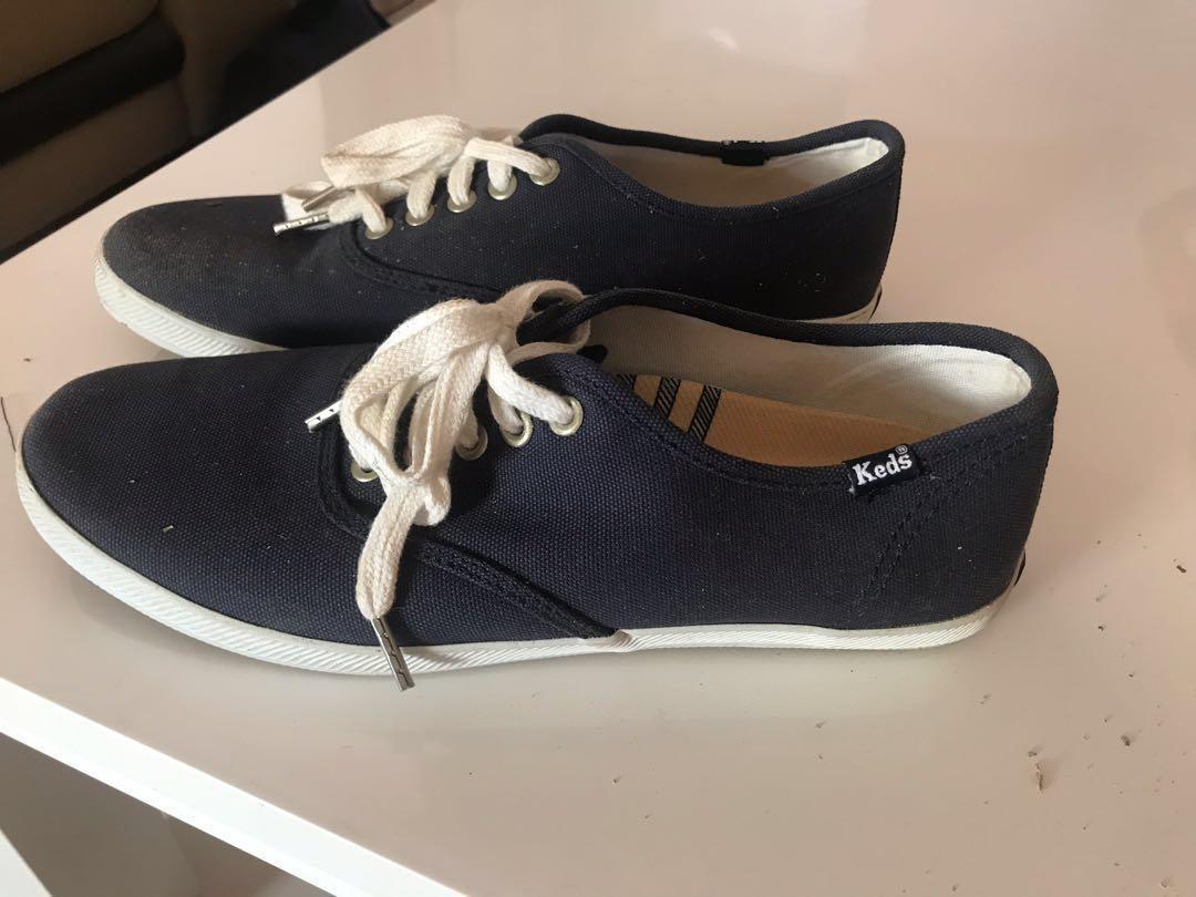 Navy blue keds men sneaker for sale