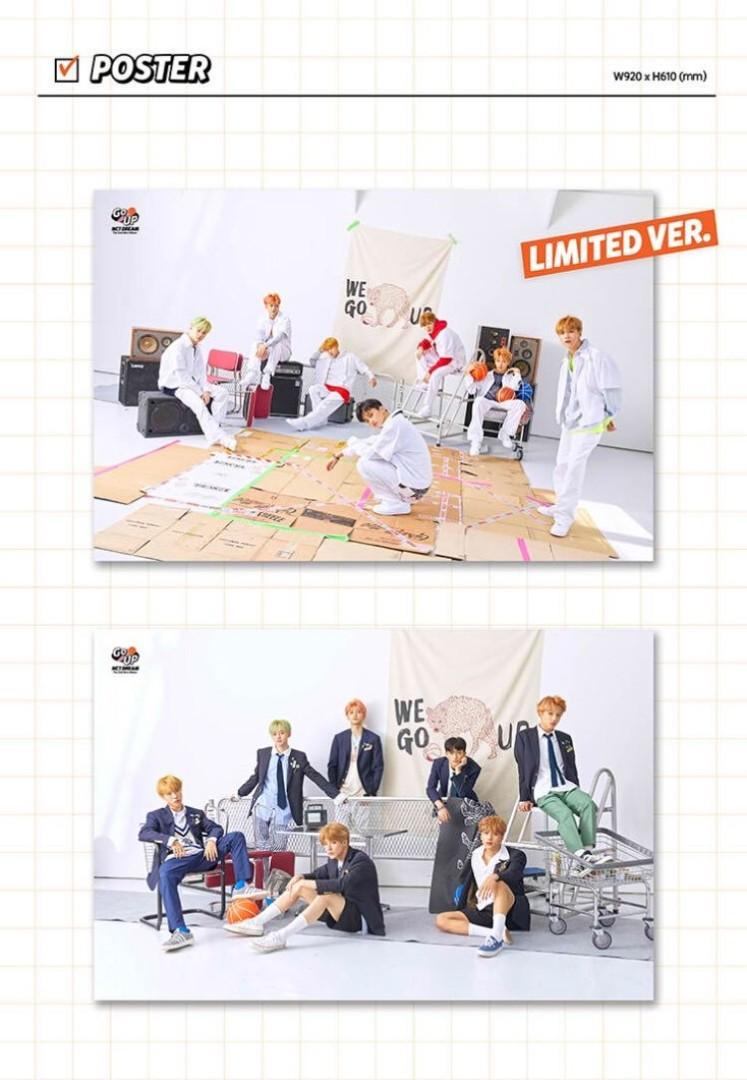 Nct Dream We Go Up Poster