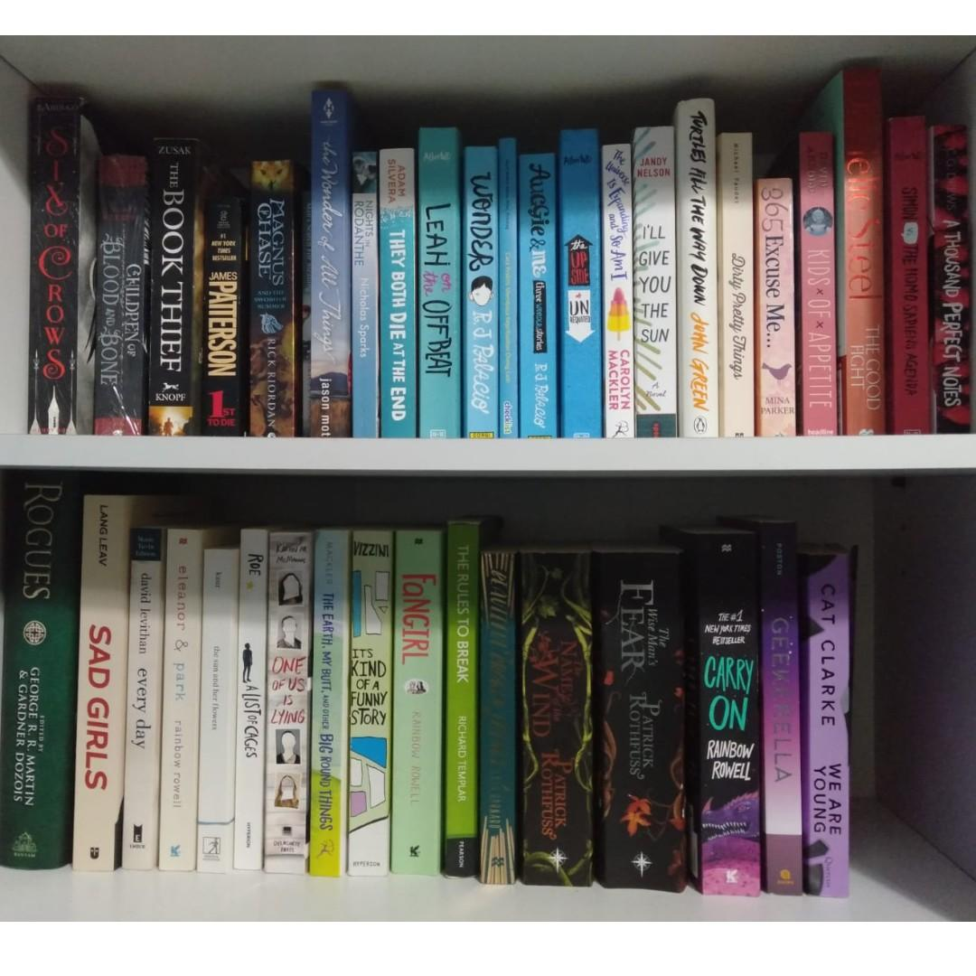 NEW & PRELOVED BOOKS FOR SALE