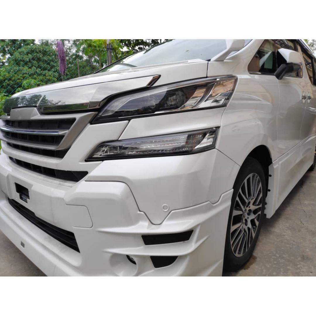 New Recond Toyota Vellfire 2.5 ZG TRD Sunroof Full spec Alphard