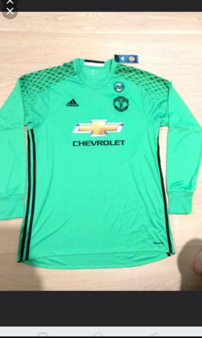 (NEW)Adidas Manchester United 16-17 Goalkeeper Kit