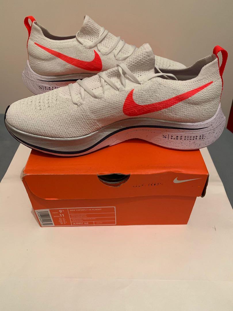 Details about Nike Men's Zoom Vaporfly 4% Flyknit Japan Hakone Ekiden Pack AJ3857 160