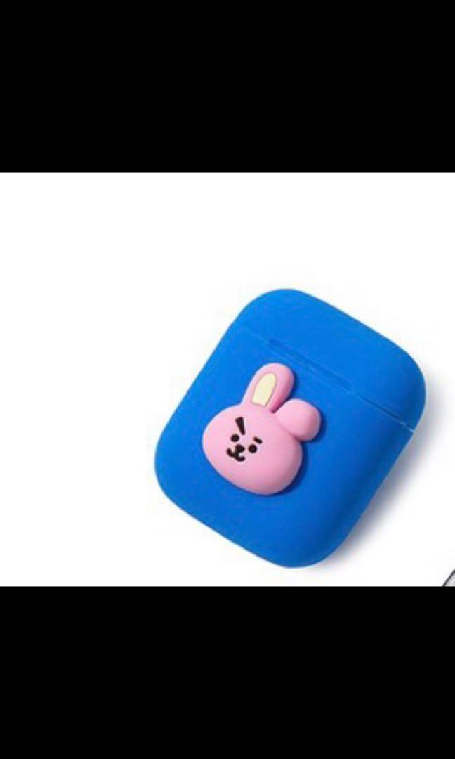 Official Cooky Airpod Case BT21 Line Collection Limited Edition