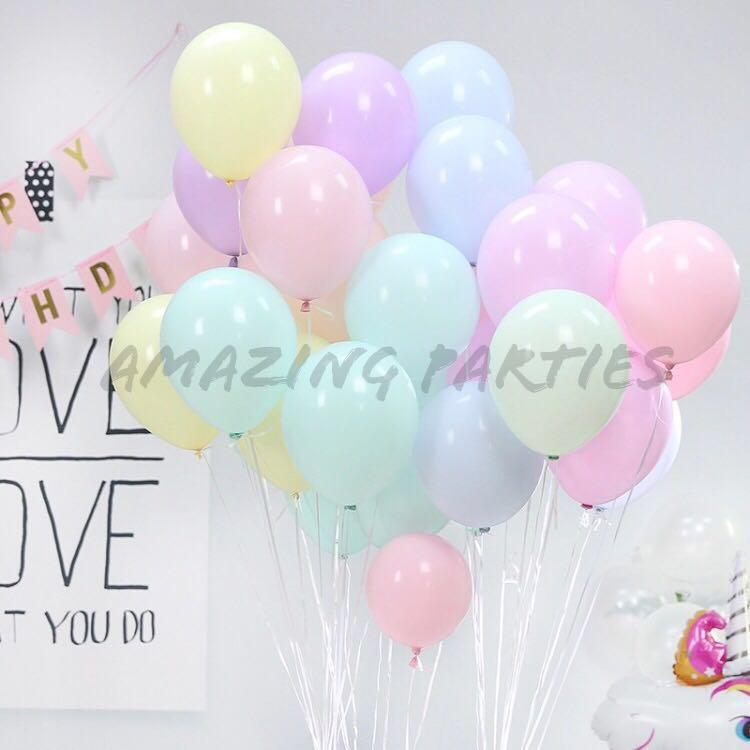 Pastel Colours 10 inch Latex Party Decoration Balloon