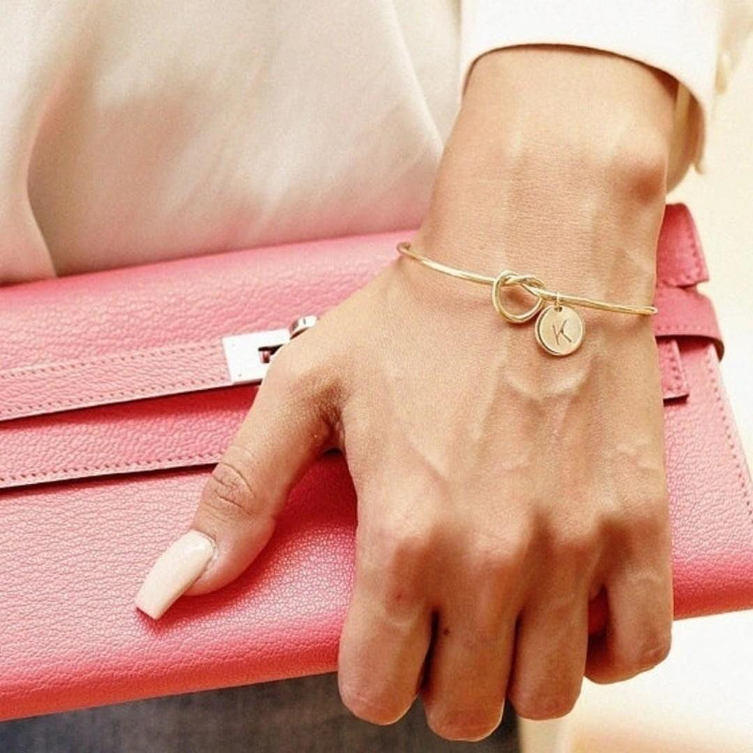 Personalised initial Bracelets