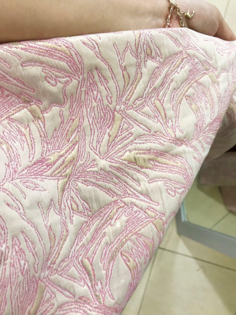 Pink Full Jaguard Gown - Gaun Pesta - Party Dress