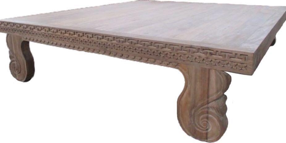 Platform Bed King Solid Teak Furniture Beds Mattresses On Carousell
