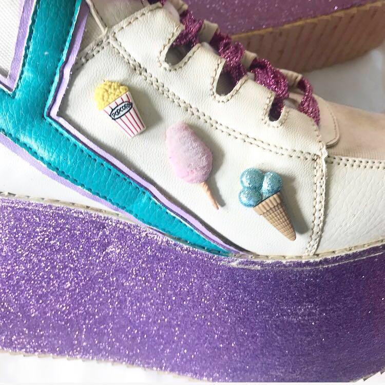 Platform Sneakers Size 7