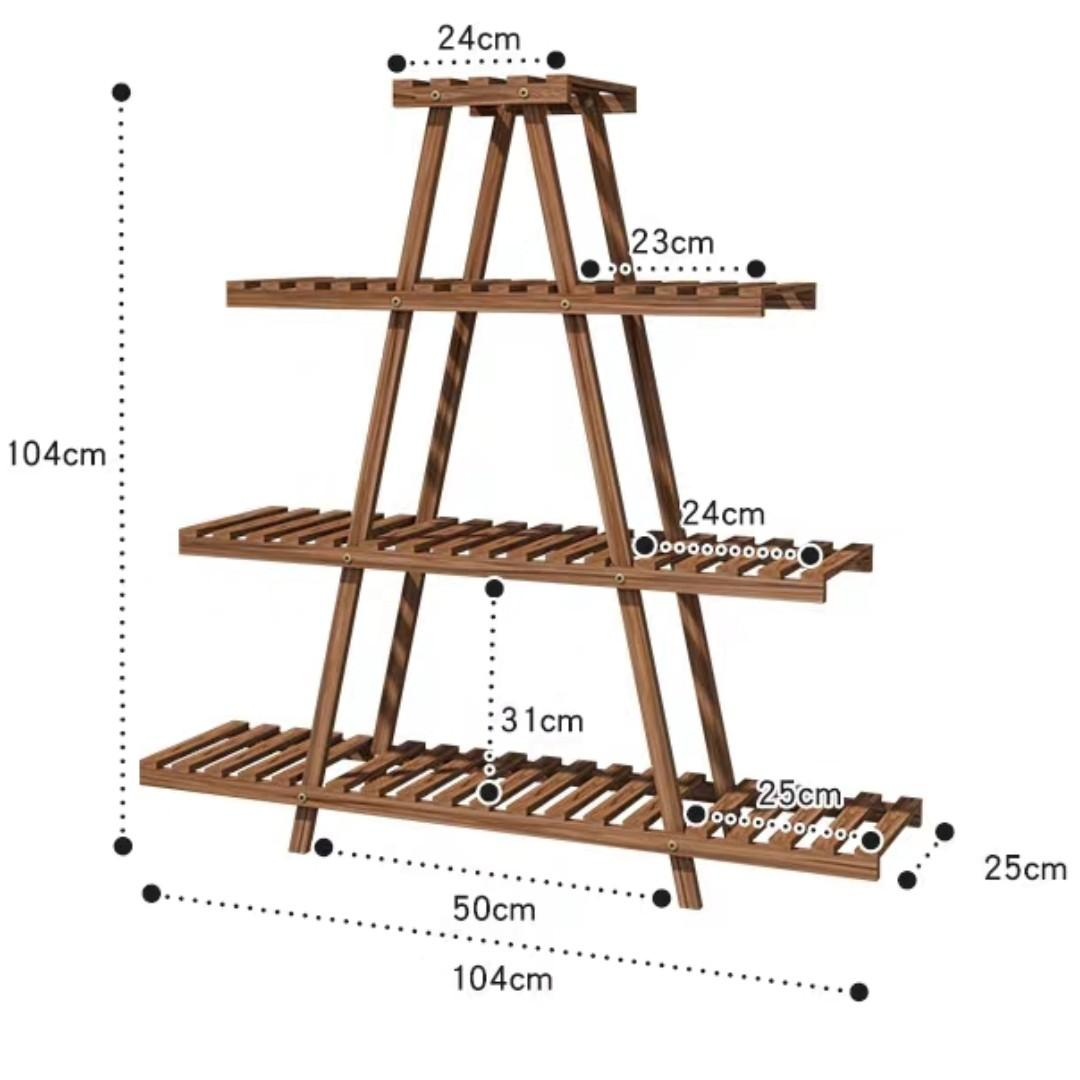 RENTAL: D191 LADDER SHELVING