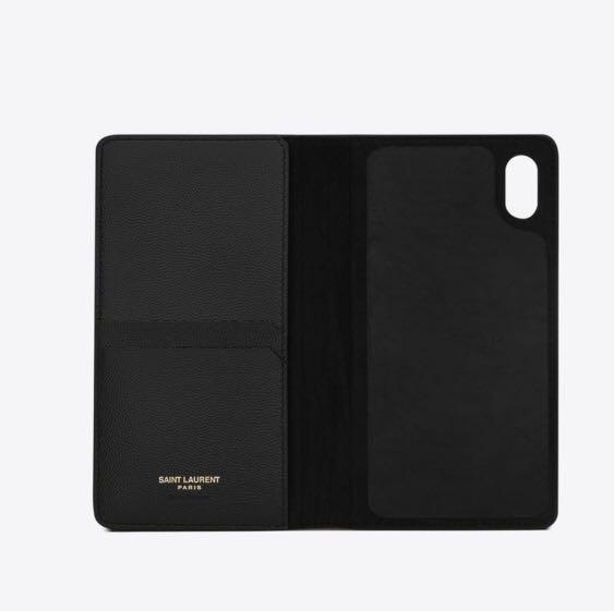 Saint Laurent YSL iPhone XS case
