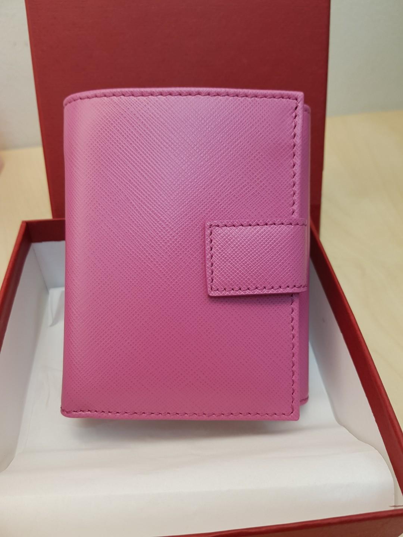 Salvatore Ferragamo Vara Bow short wallet