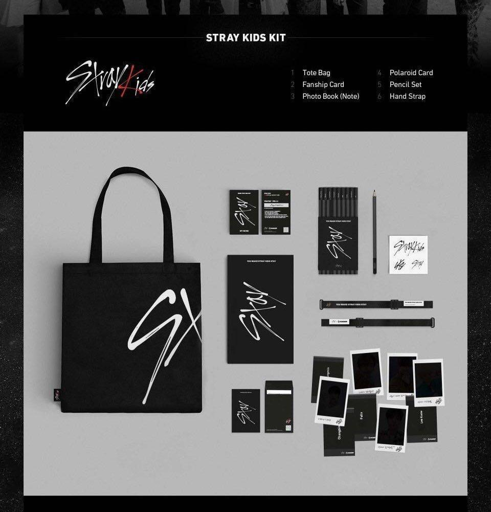 [SEE NEW LISTING] stray kids - stay 1기 fanship kit (sharing)