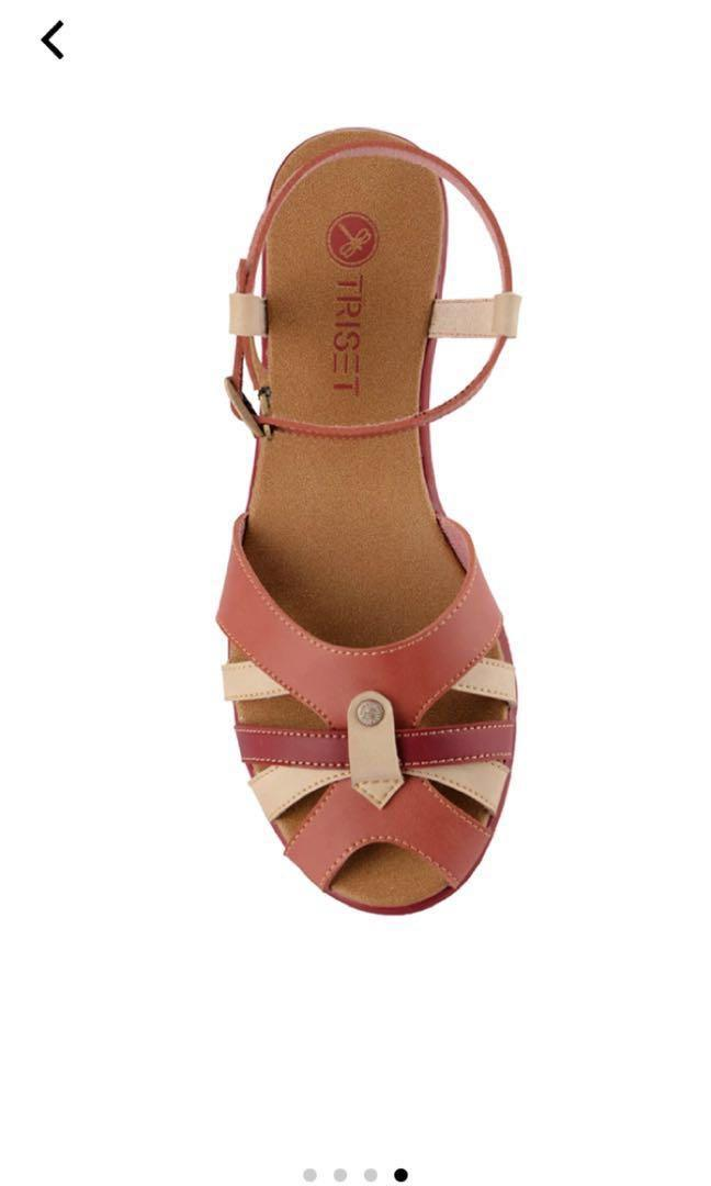 Sendal Triset / triset shoes sandal flat open toe flat shoes