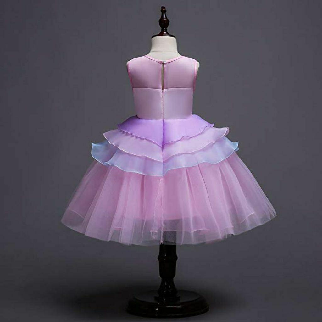 Sleeveless Girl Unicorn Princess Party Dress [ Pre Order ]
