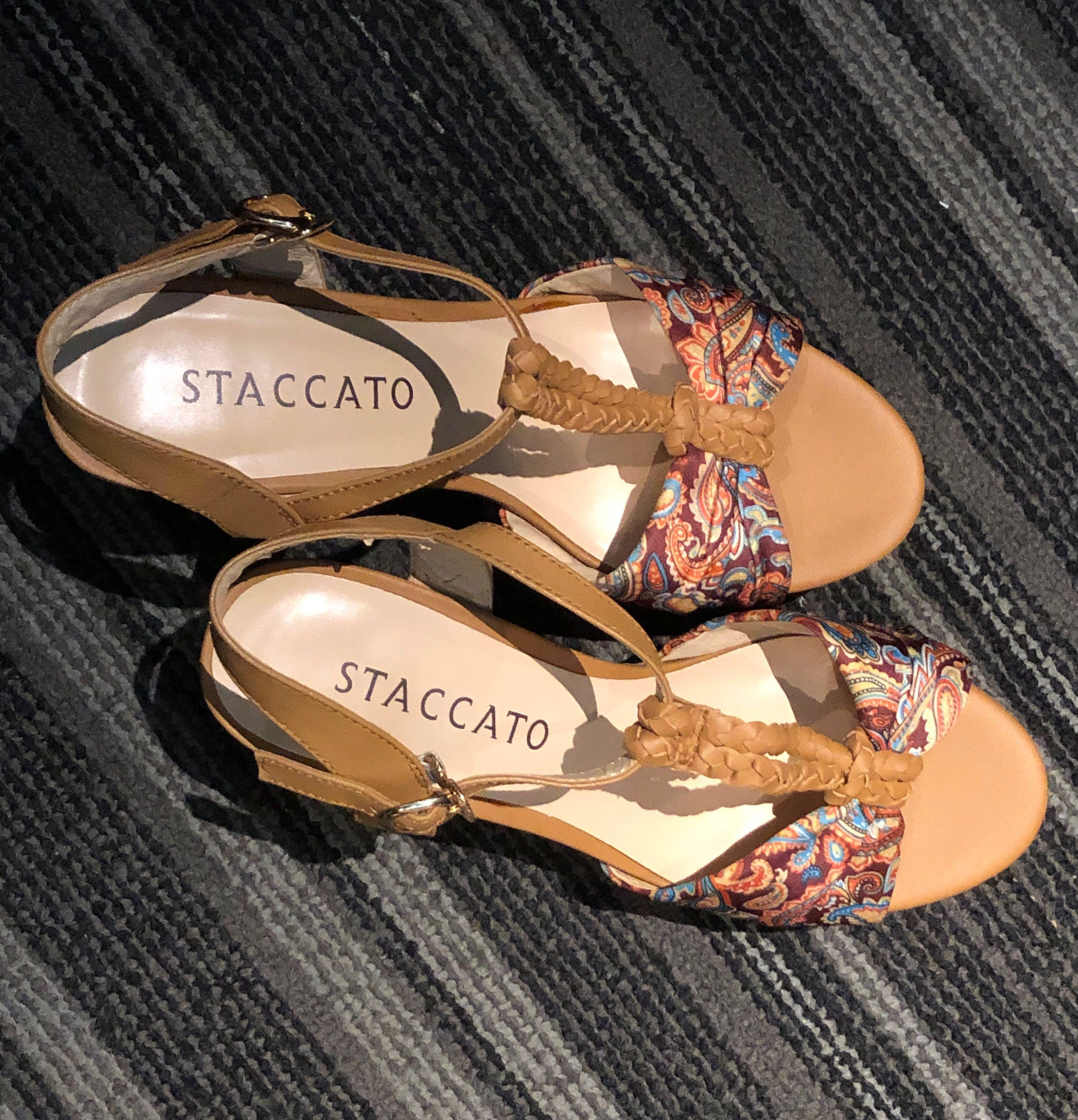 Staccato Wedges Heels