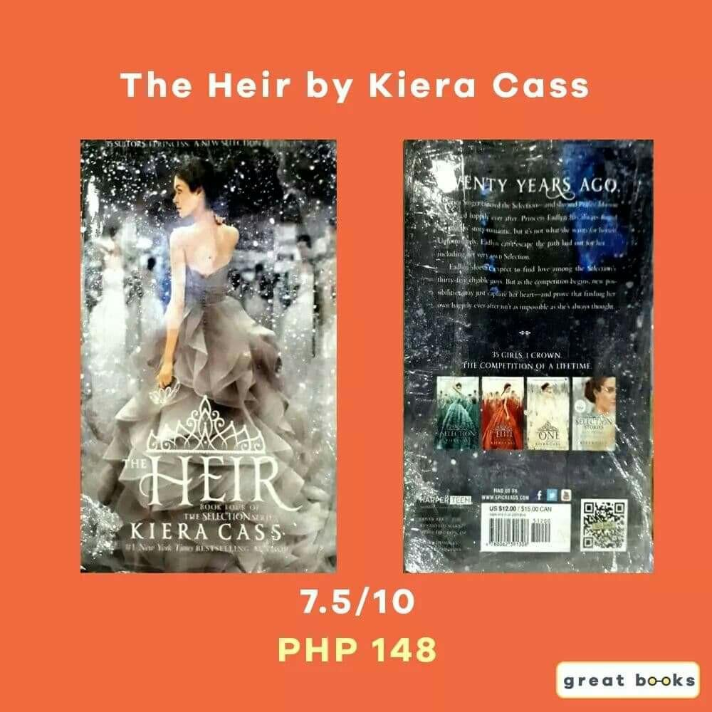The Heir - Kiera Cass ( The Selection Series Book #4l on