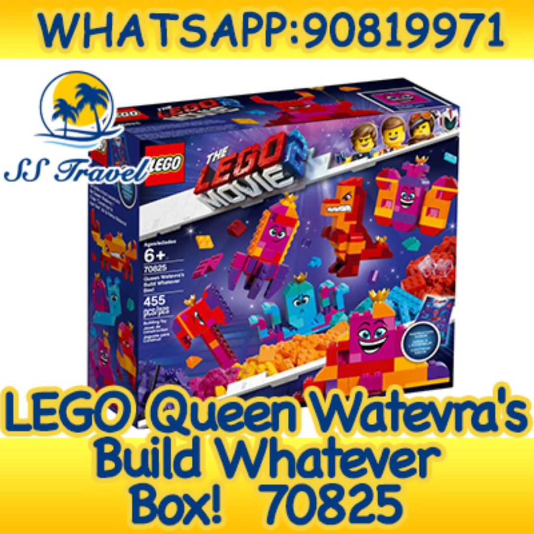 5e1af5c78e1 THE LEGO MOVIE 2: Queen Watevra's Build Whatever Box 70825, Toys ...
