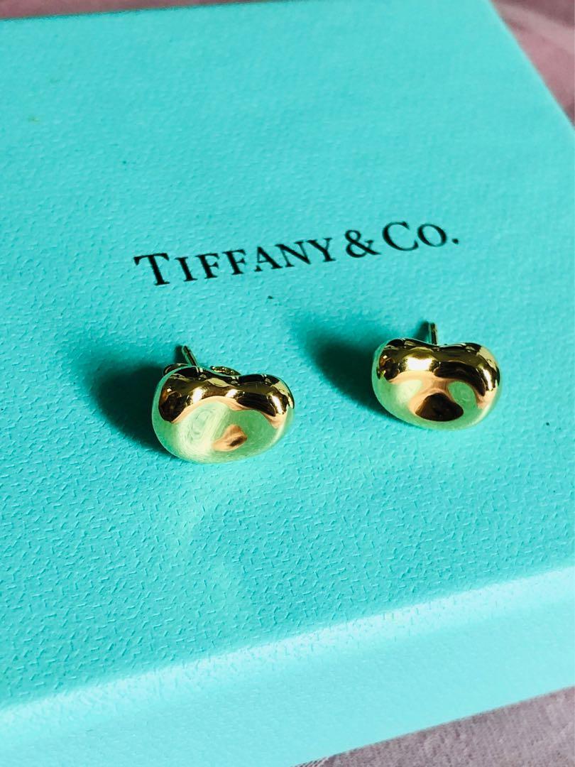 752145a55bac5 Tiffany & Co. Gold Bean Earrings