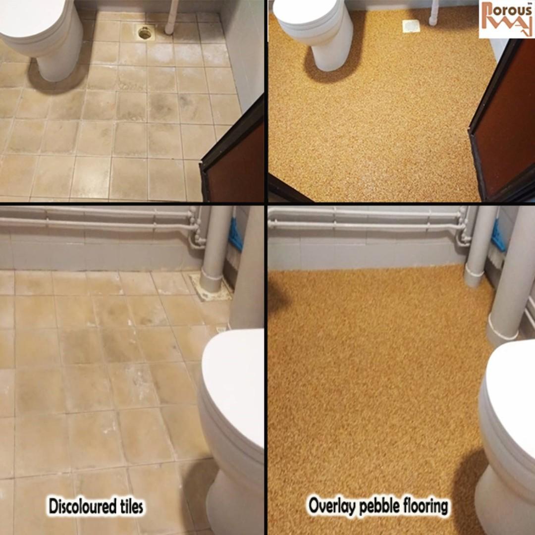 Toilet overlay (pebble)