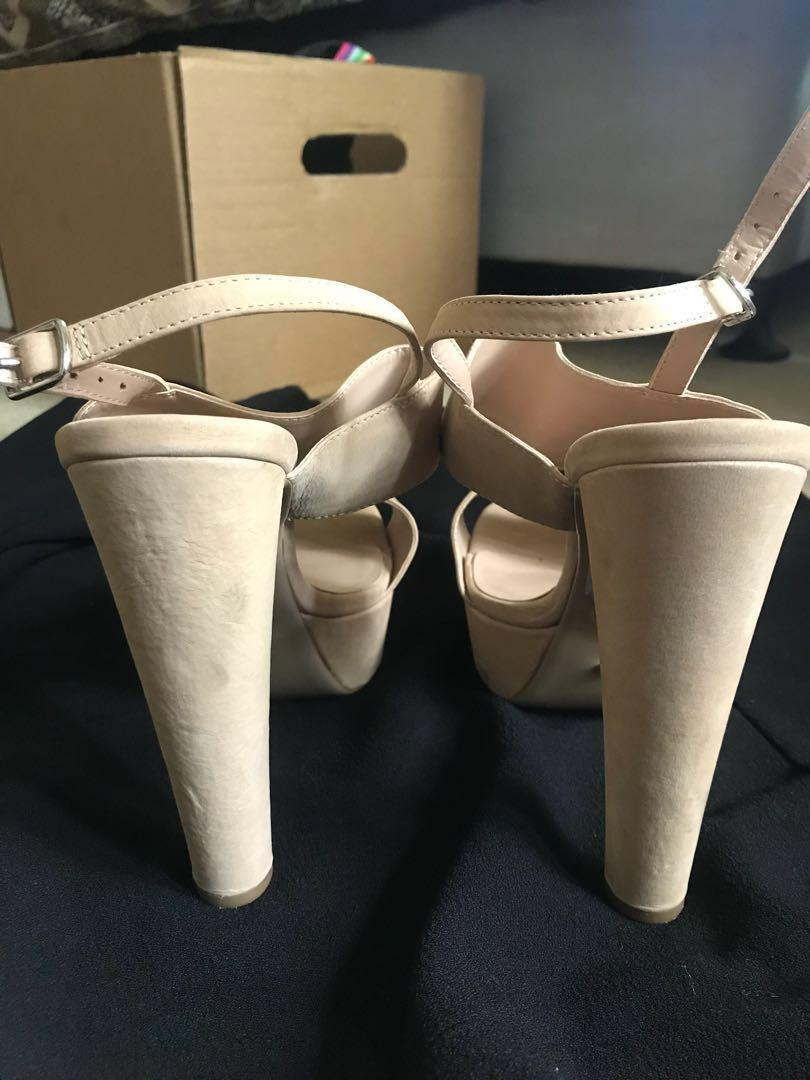 Tony Bianco Nude Heels