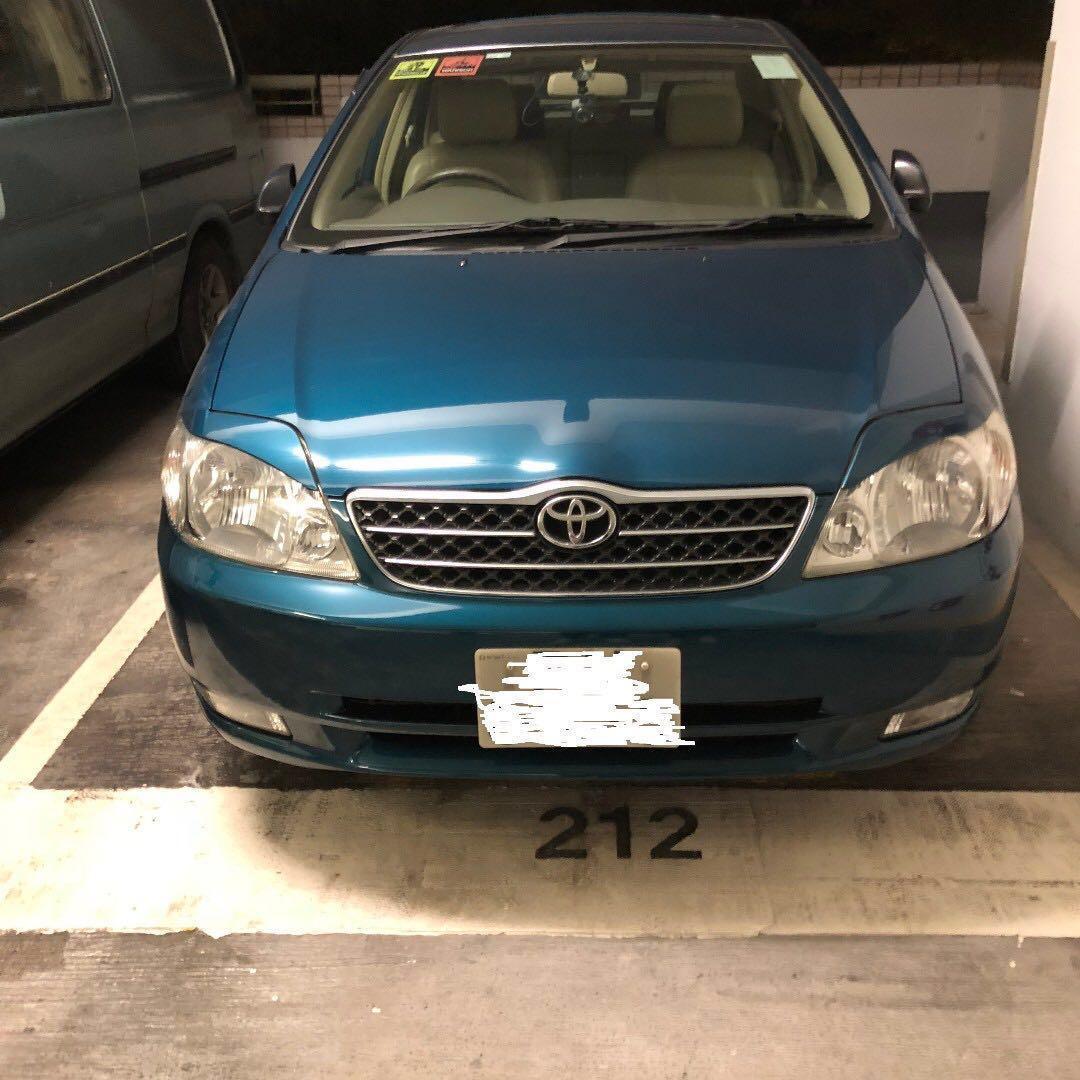 TOYOTA CORONA 豐田 Toyota Corolla-nze121raepek