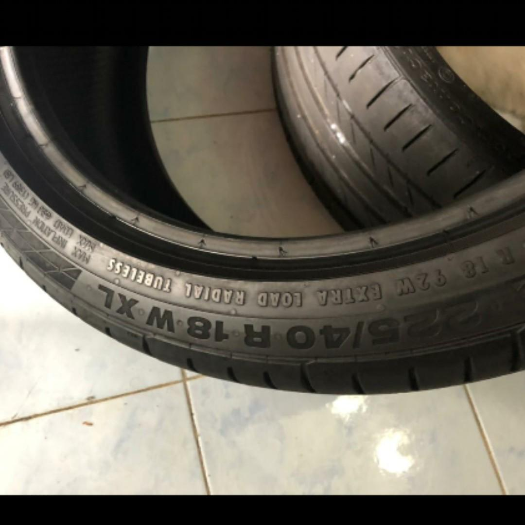 Use Tyre Conti Runflate