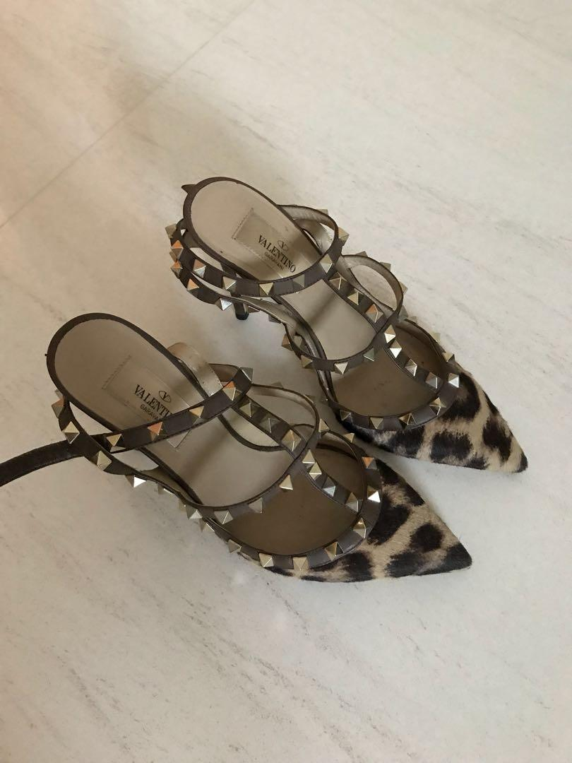 valentino leopard shoes